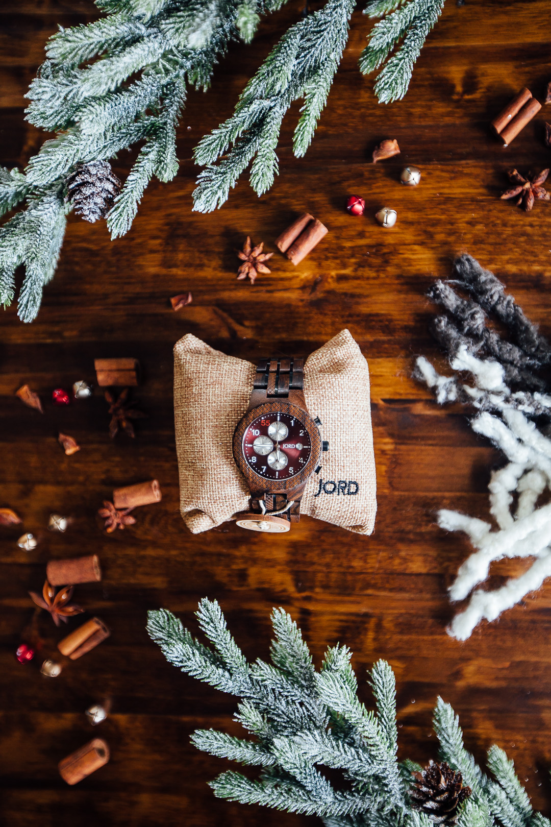 christmas gift idea jord wood watch