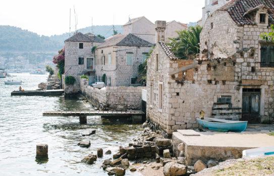 Sailing to Vis, Croatia