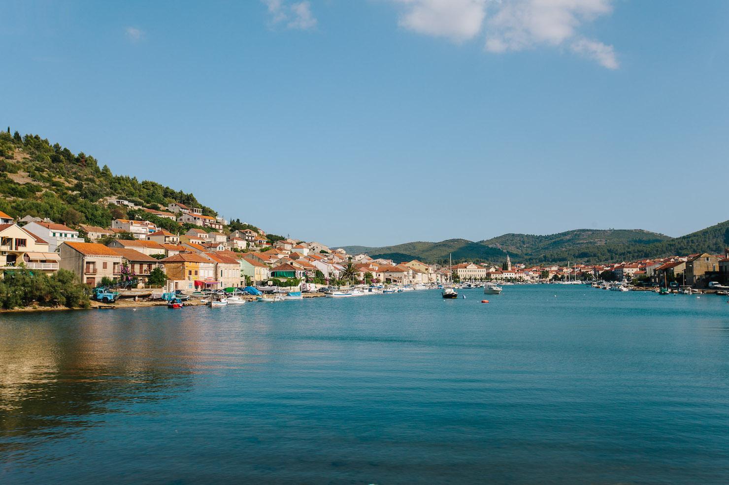 Korcula Town, Croatia with MedSailors