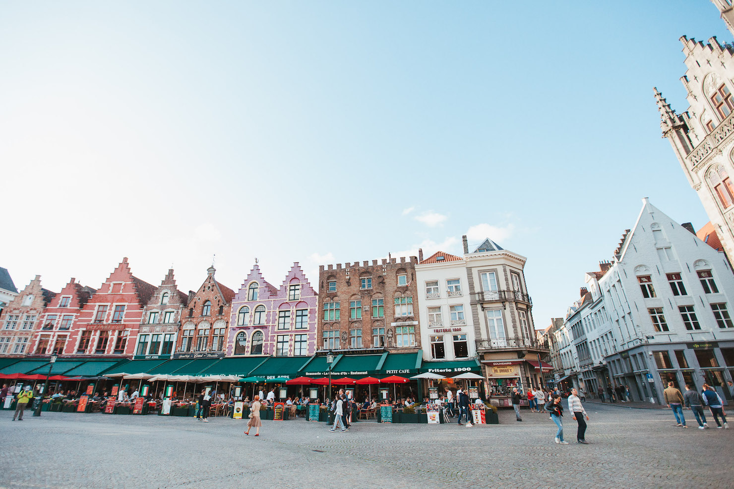 Market Square, Brugge, Belgium