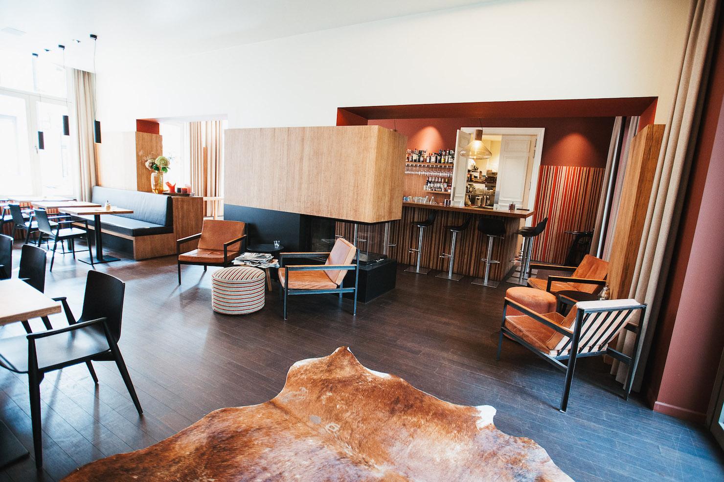 Hotel Marcel Lobby