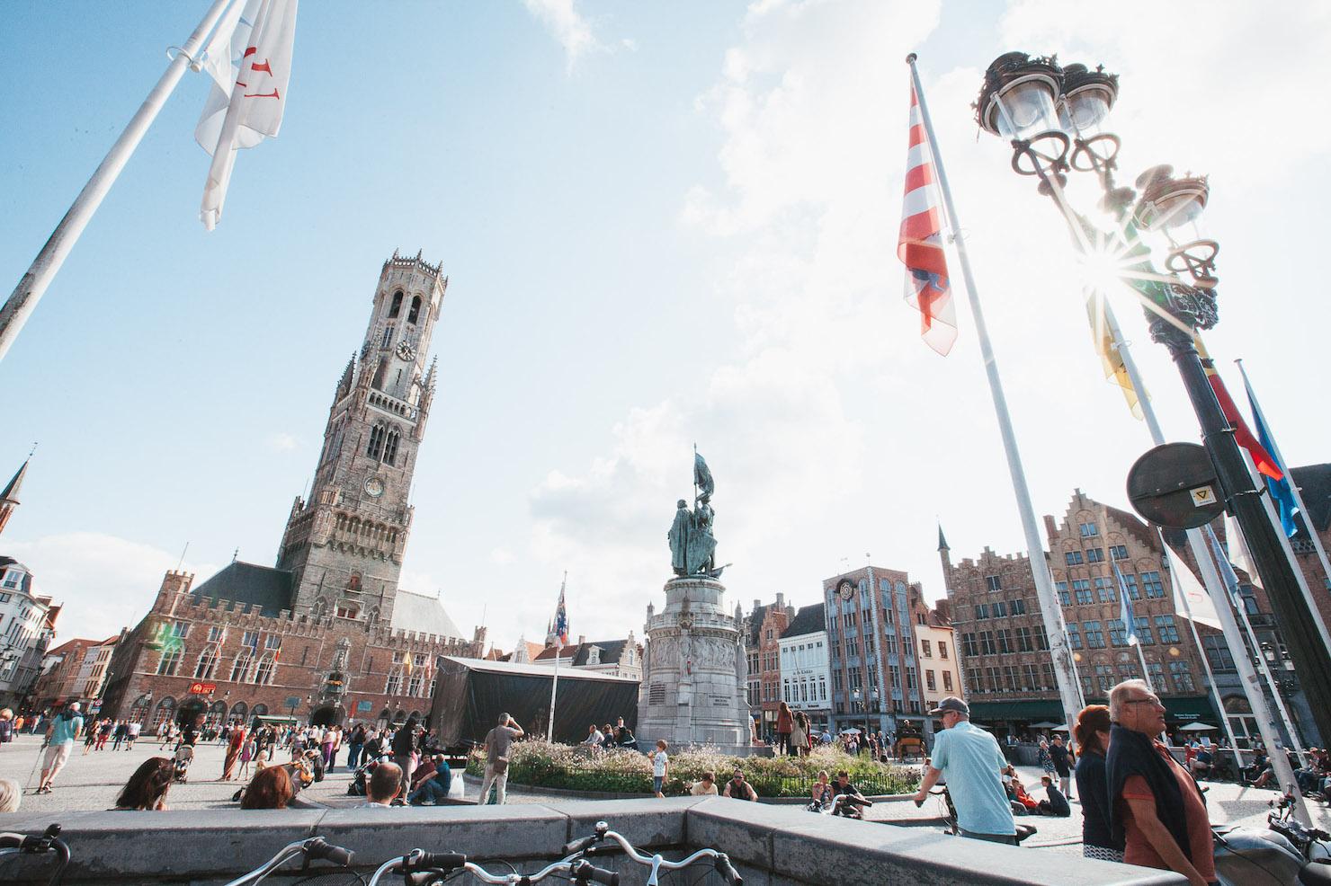 Brugge, Belgium Market Square